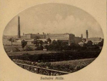 Salts Mill in about 1910