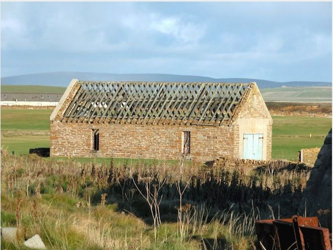 Recent view of the lifeboat station at Stromness, Orkney built for the 'Saltaire' in 1867