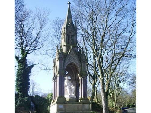 Statue of Sir Titus Salt in Lister Park