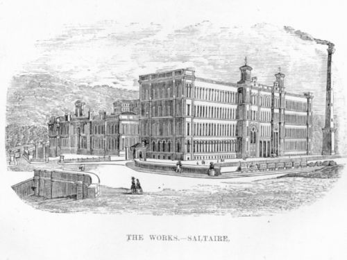 'The Works - Saltaire' from Abraham Holroyd 'Salts and its founder'