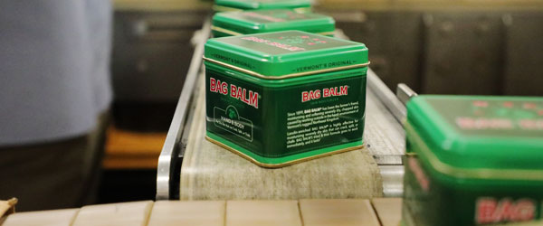 Vermont Product: Bag Balm Canning Production Line