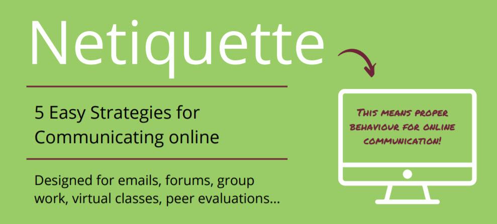 Netiquette: 5 easy strategies for communicating online