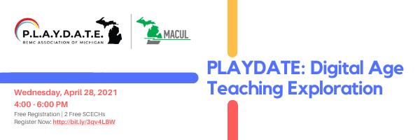 PLAYDATE Digital Age Teaching Exploration