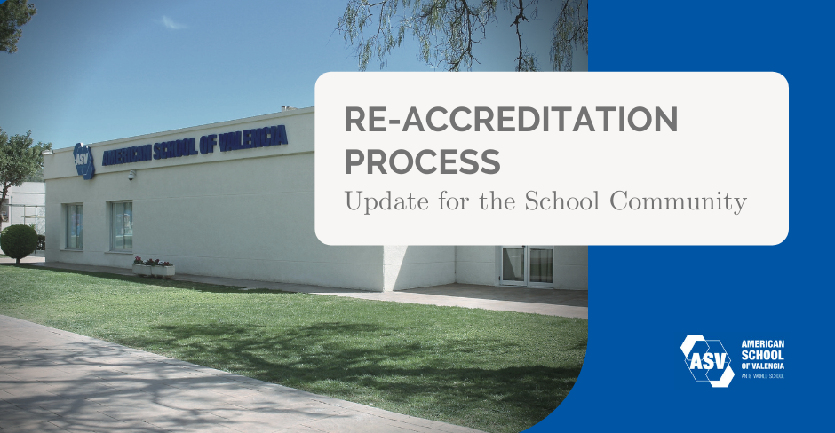 Re-accreditation process banner