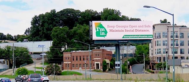 Georgia Safety Promise Billboard
