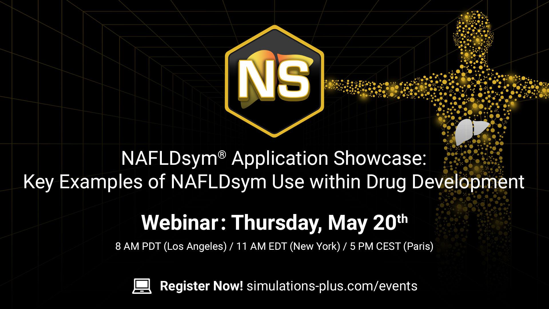 NAFLDsym Application showcase key examples of NAFLDsym use within drug development