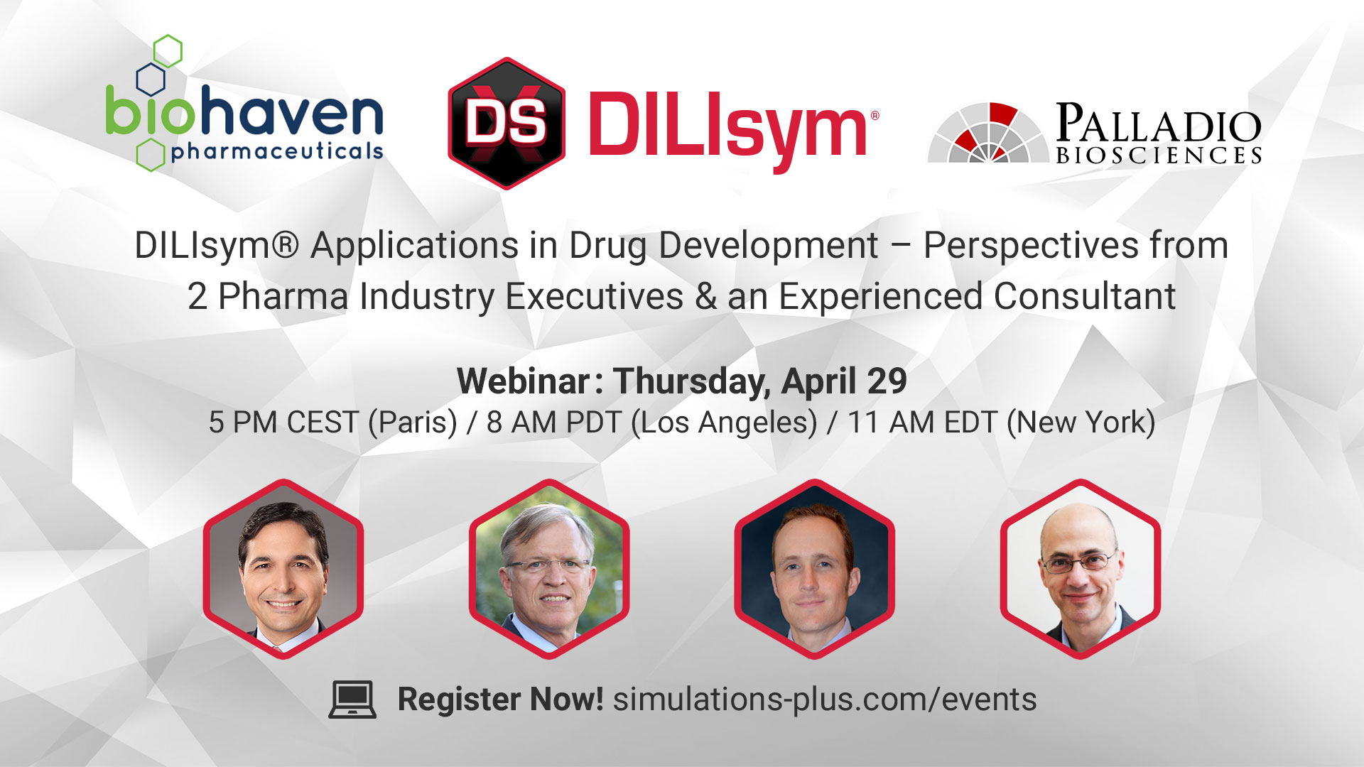 DILIsym palladio biosciences biohaven pharmaceuticals DILIsym in Drug Development - perspectives from 2 pharma industry executives and an experienced consultant