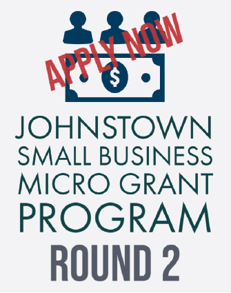 Johnstown Small Business Micro Grant Round 2 now open to apply graphic