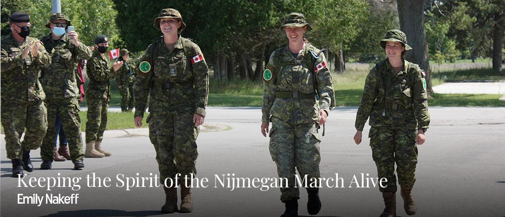 Garder vivant l'esprit de la marche de Nimègue