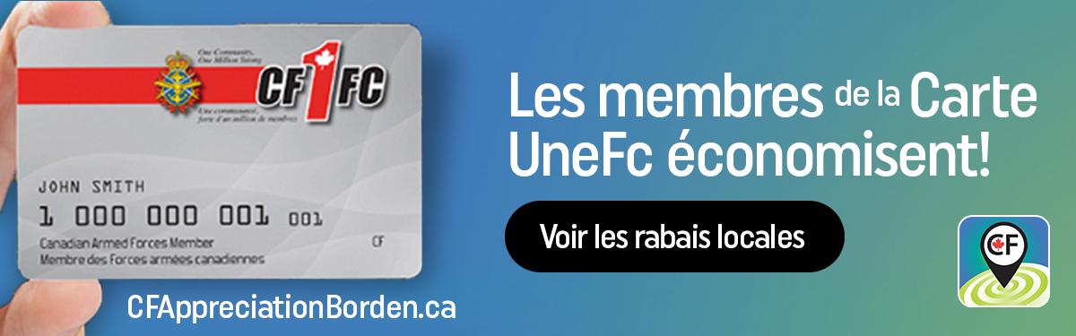 Les membres de le Carte UneFc économisent