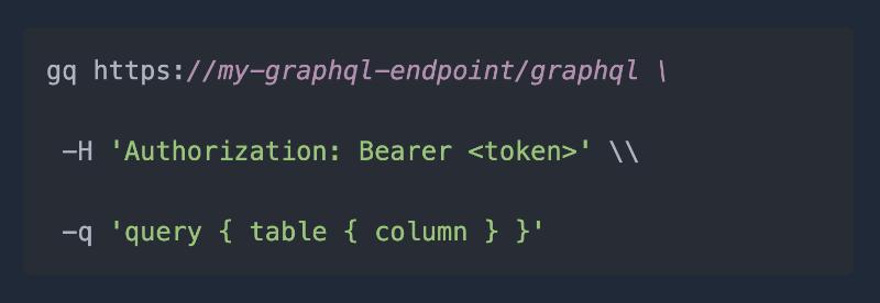 Graphqurl - curl like CLI for GraphQL | GraphQL Blog