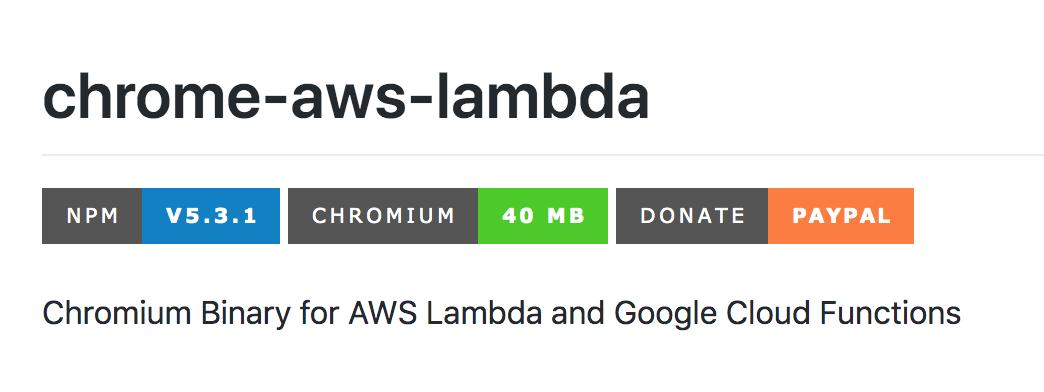 alixaxel/chrome-aws-lambda