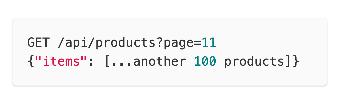 API pagination design