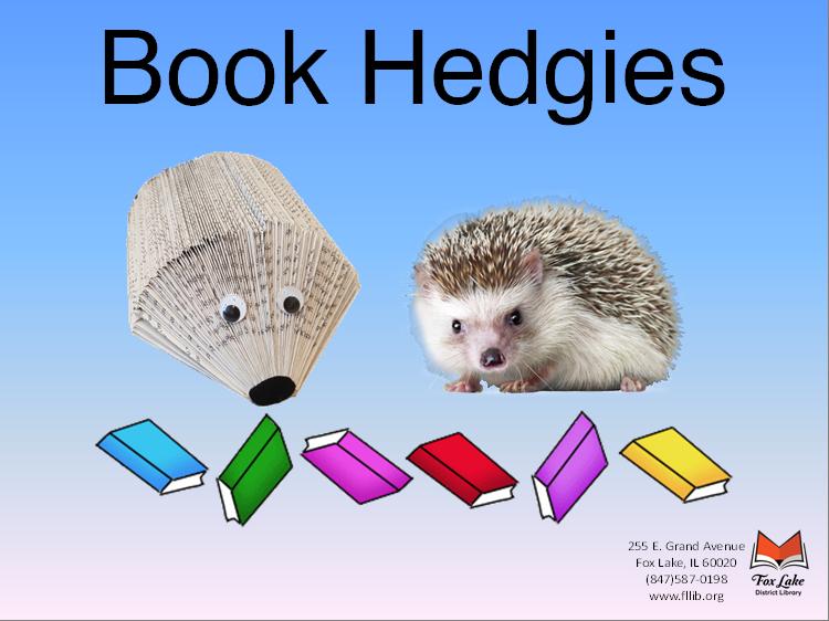 Hedge Hog & Book Hedgie