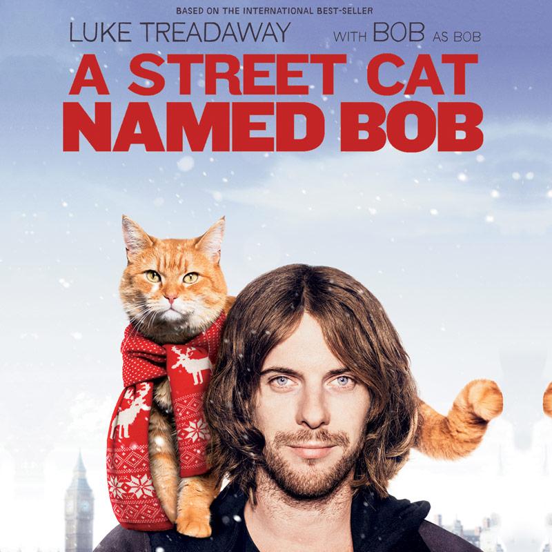 A Street Cat Named Bob Movie Cover