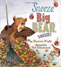 Sneeze Big Bear Sneeze Book Cover