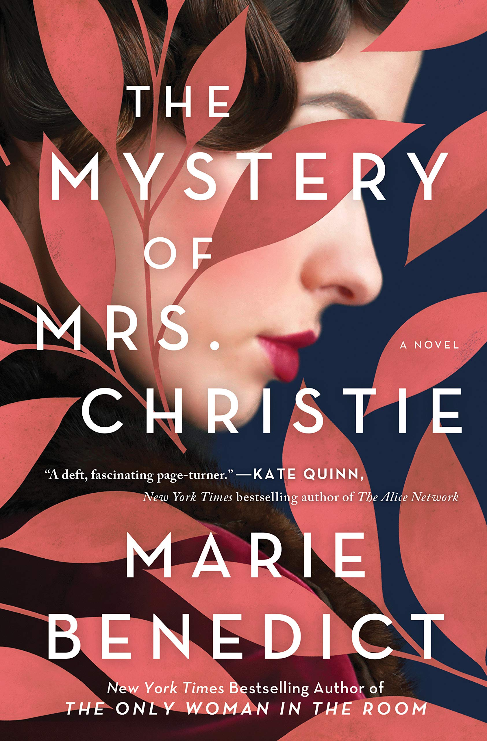 Book Cover of The Mystery of Mrs. Christie by Marie Benedict