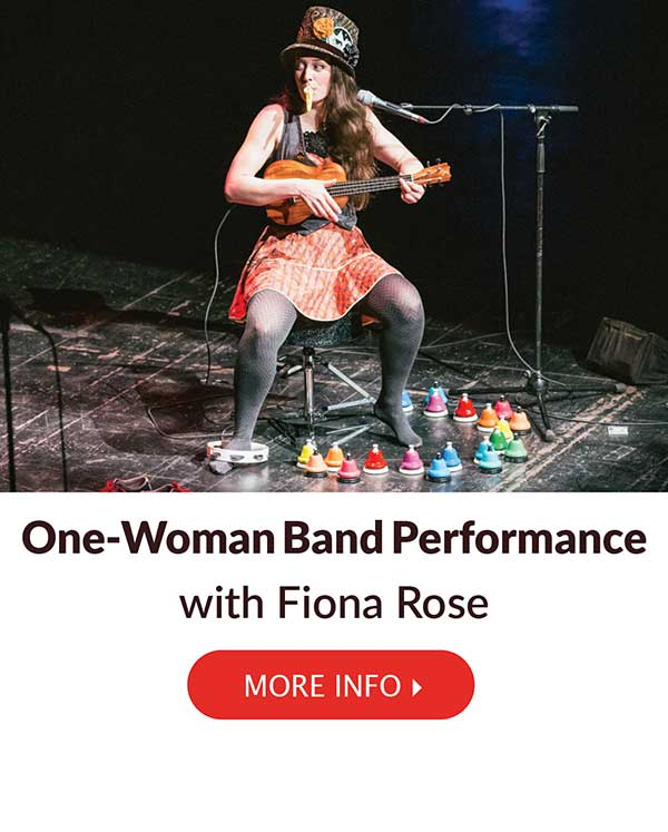 One-Woman Band Performance