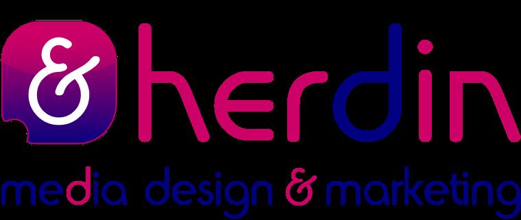 Logo herdin Media Design & Marketing