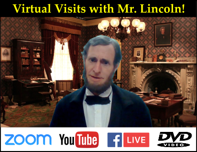 Virtual Visits with Mr. Lincoln