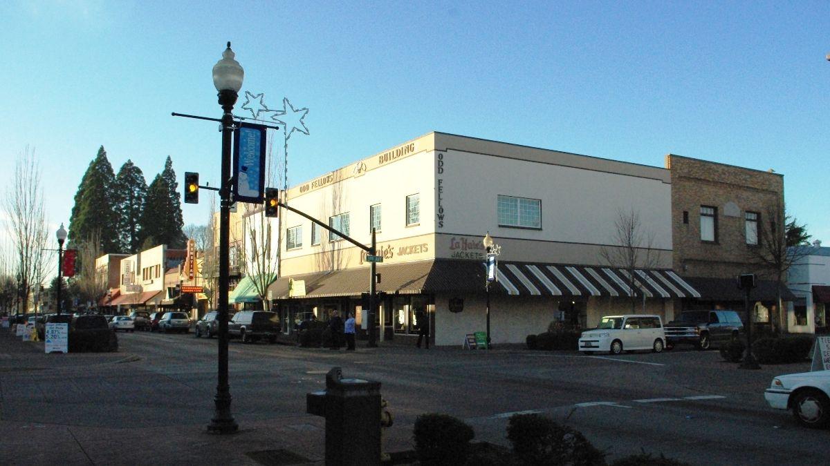 downtown Hillsboro street