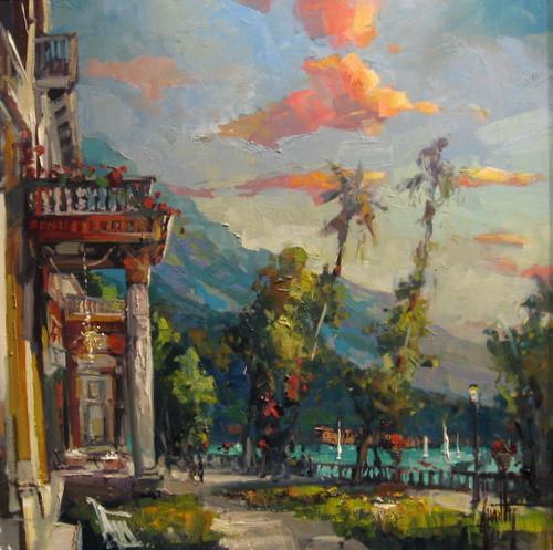 View of Lago Como by Steve Quartly