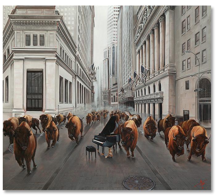 Bull Market by Pete Tillack