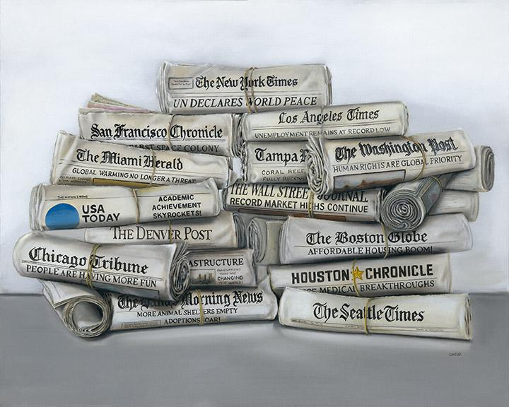 All the News That's Fit to Print by Gail Chandler