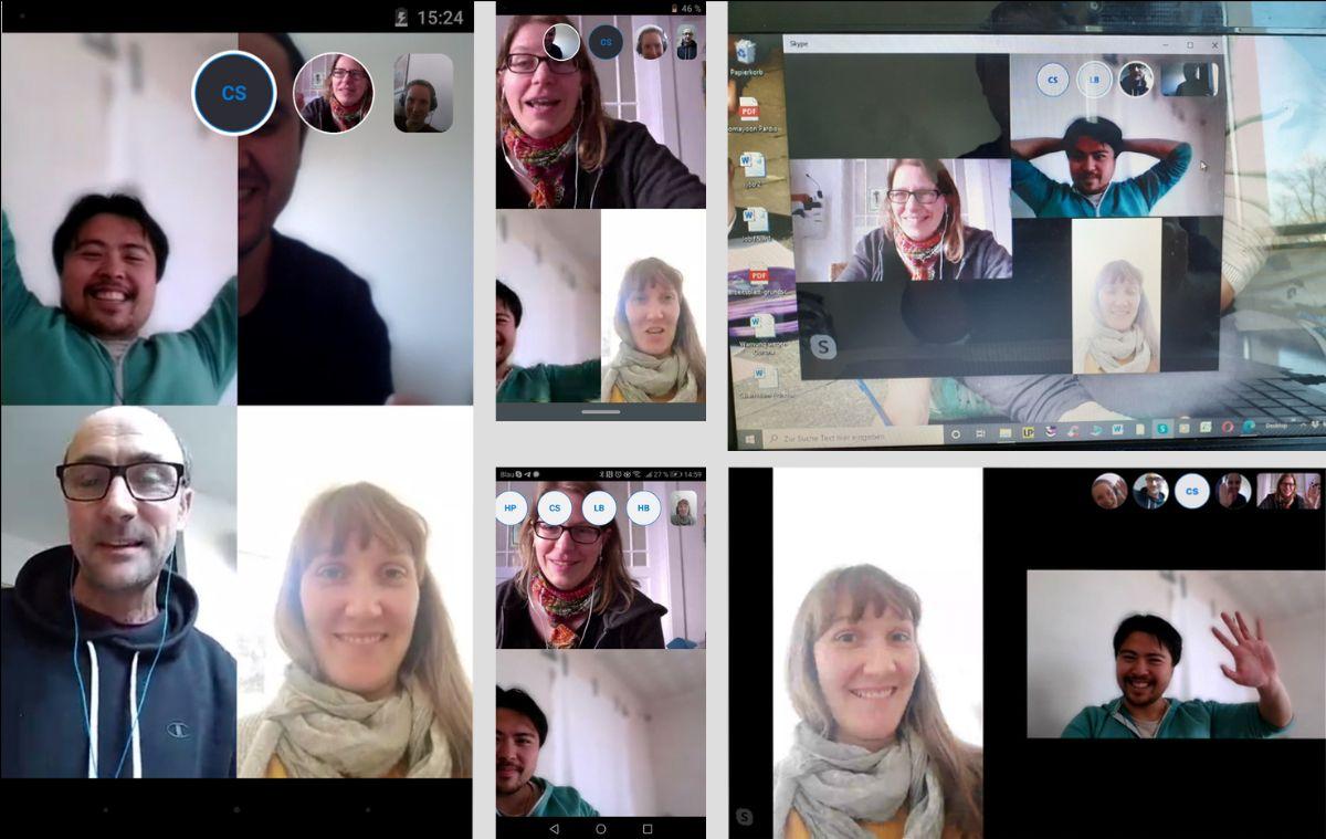 Skype Teamtreffen