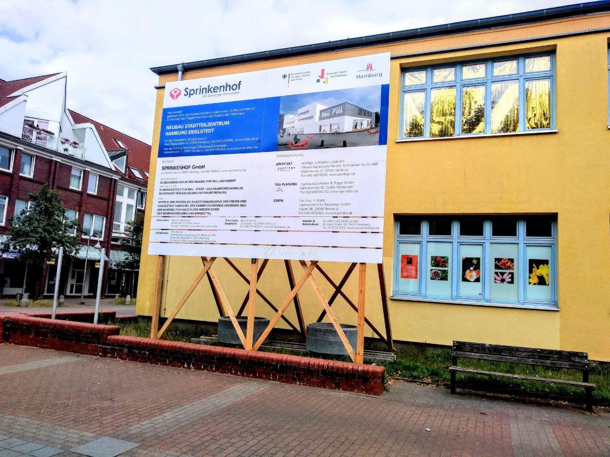 Bauschild Eidelstedter Bürgerhaus