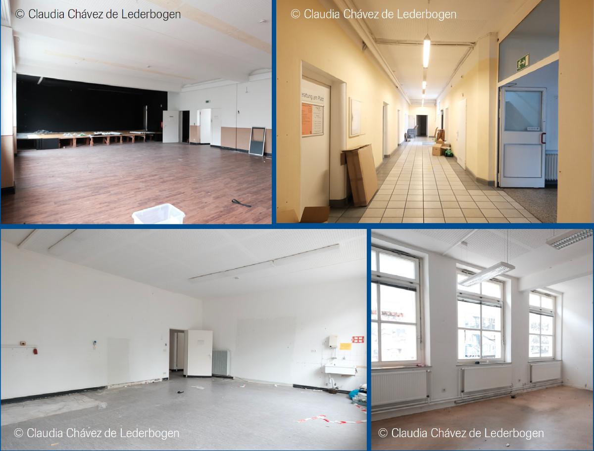 Fotos Eidelstedter Bürgerhaus leergeräumt