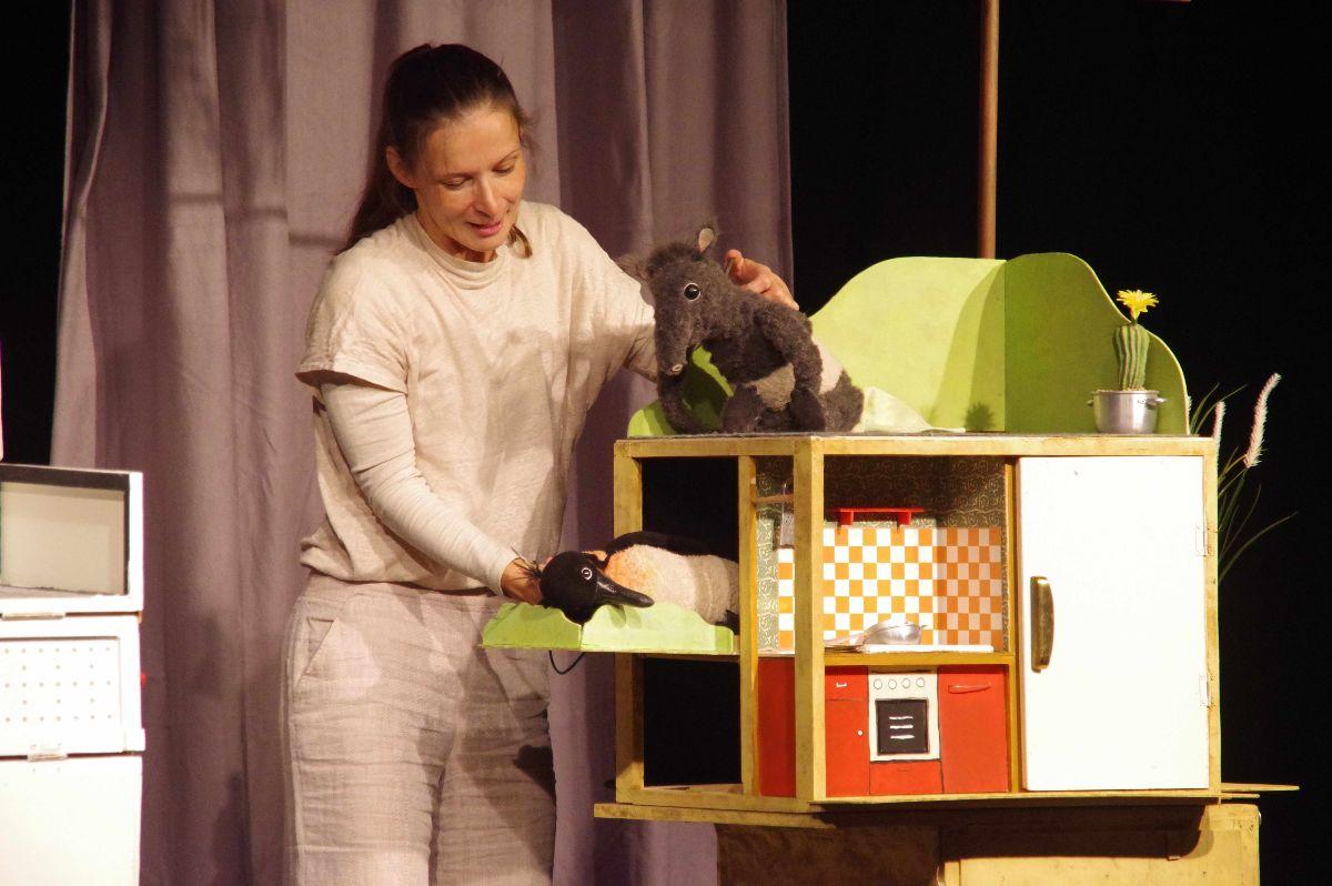 Puppentheater für Kinder