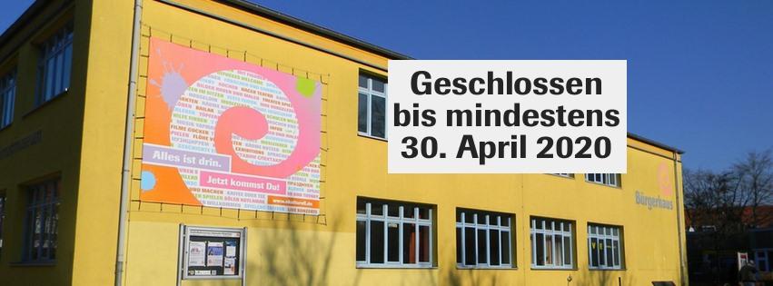 Eidelstedter Bürgerhaus bis mindestens 30. April geschlossen