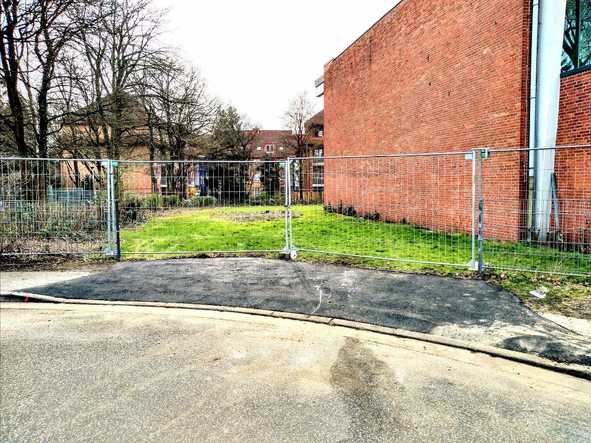 Baustelle Bild vom 20. März 2020