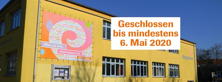 Eidelstedter Bürgerhaus geschlossen bis 6. Mai