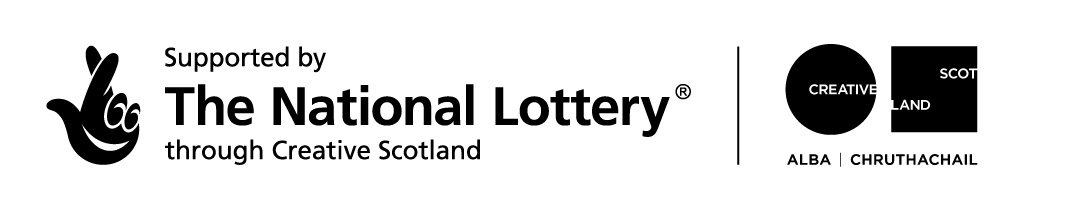 Supported by The National Lottery through Creative Scotland