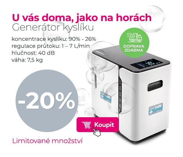 Generátor kyslíku pro Vás domu, nebo do firmy.