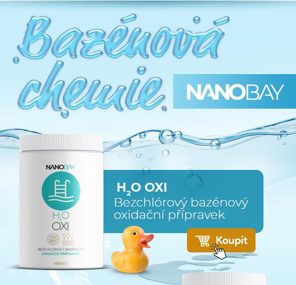 OXI bezchlórový bazénový oxidační přípravek