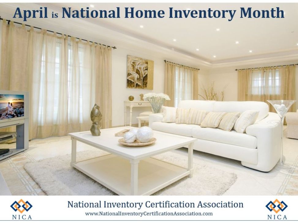 National Home Inventory Month
