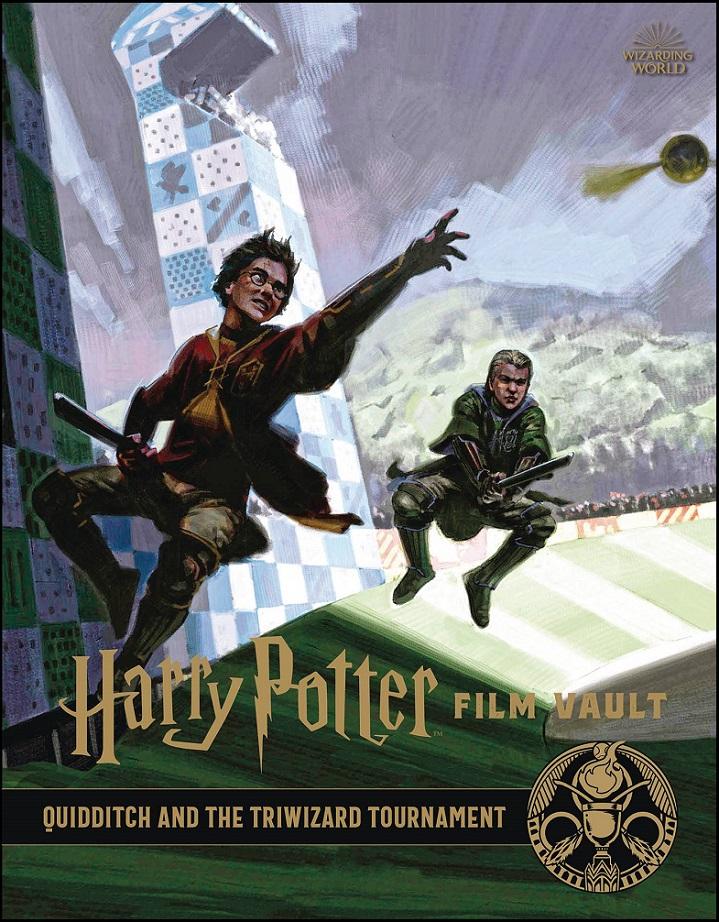 HARRY POTTER FILM VAULT HC VOL 07 – QUIDDITCH & TRIWIZARD TOUR