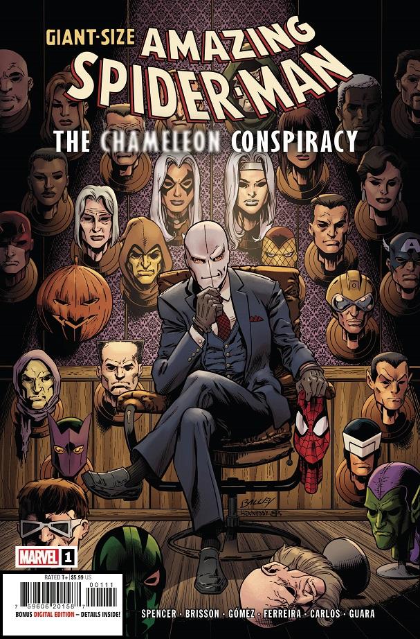 GIANT-SIZE AMAZING SPIDER-MAN – CHAMELEON CONSPIRACY #1