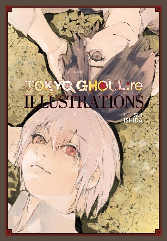 TOKYO GHOUL RE ILLUSTRATIONS HC – ZAKKI
