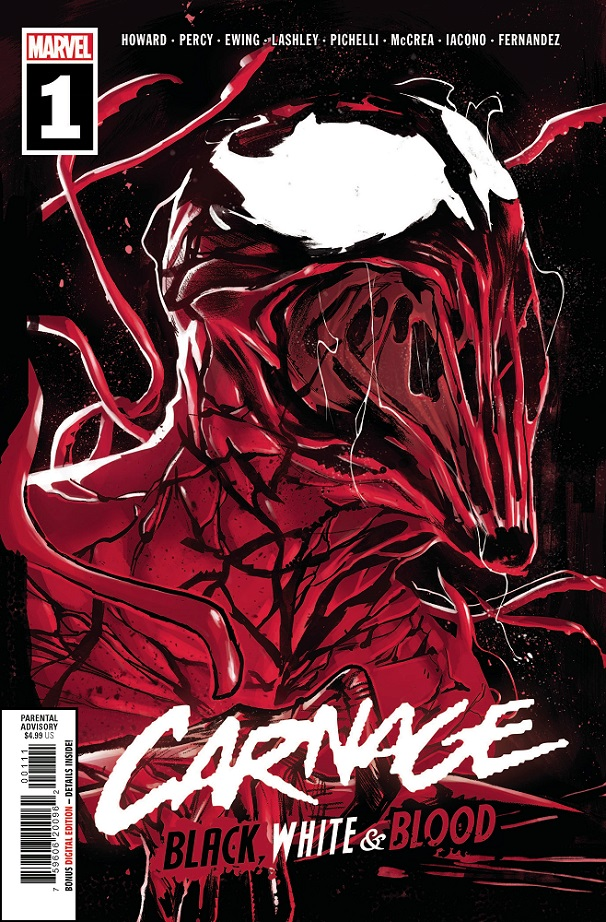 CARNAGE BLACK WHITE AND BLOOD #1