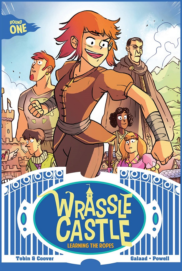 WRASSLE CASTLE GN BOOK 01 – LEARNING ROPES