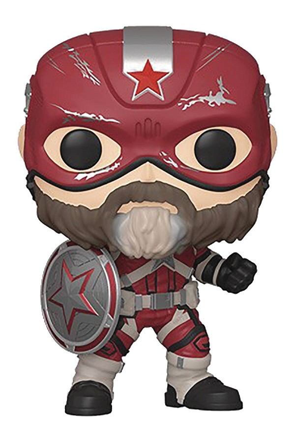 POP MARVEL BLACK WIDOW – RED GUARDIAN VINYL FIG
