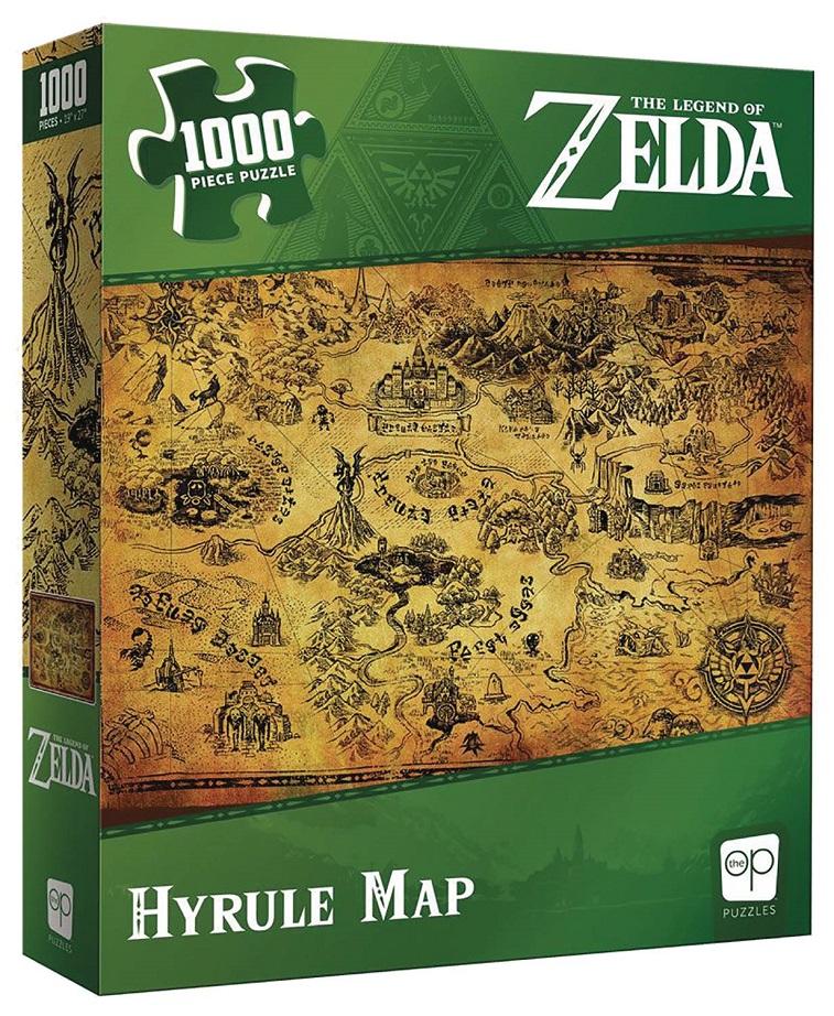 ZELDA HYRULE MAP 1000 PC PUZZLE