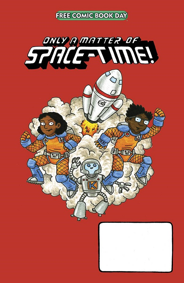 FCBD 2020 – ONLY MATTER OF SPACE TIME