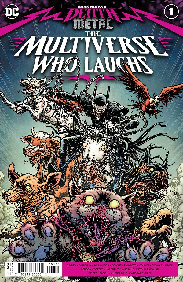 DARK NIGHTS DEATH METAL – MULTIVERSE WHO LAUGHS #1