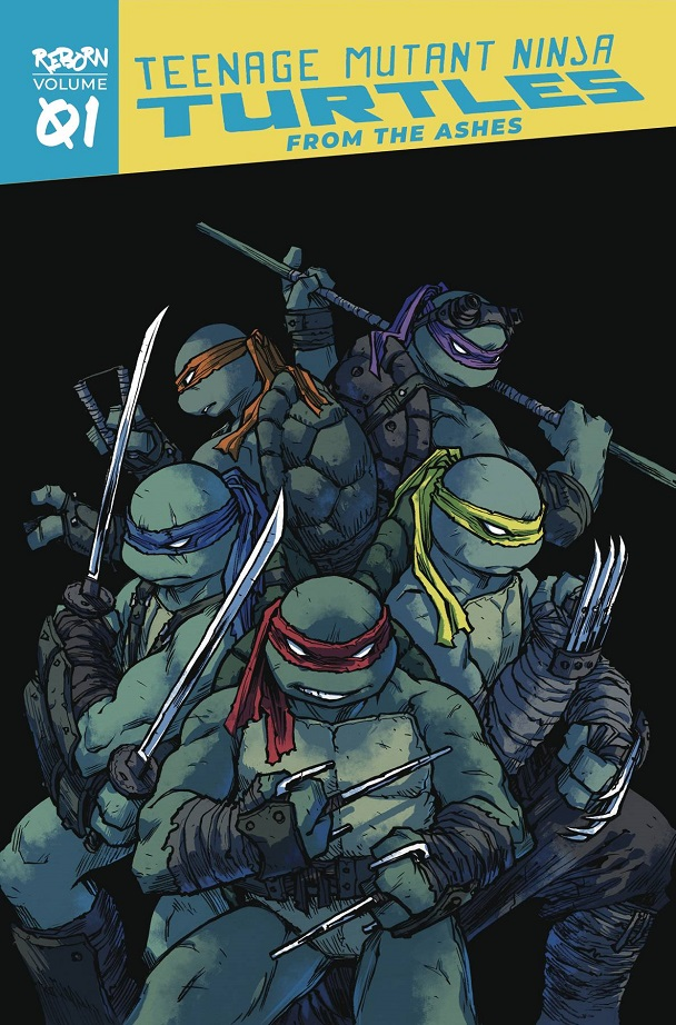 TMNT REBORN TP VOL 01 – FROM THE ASHES