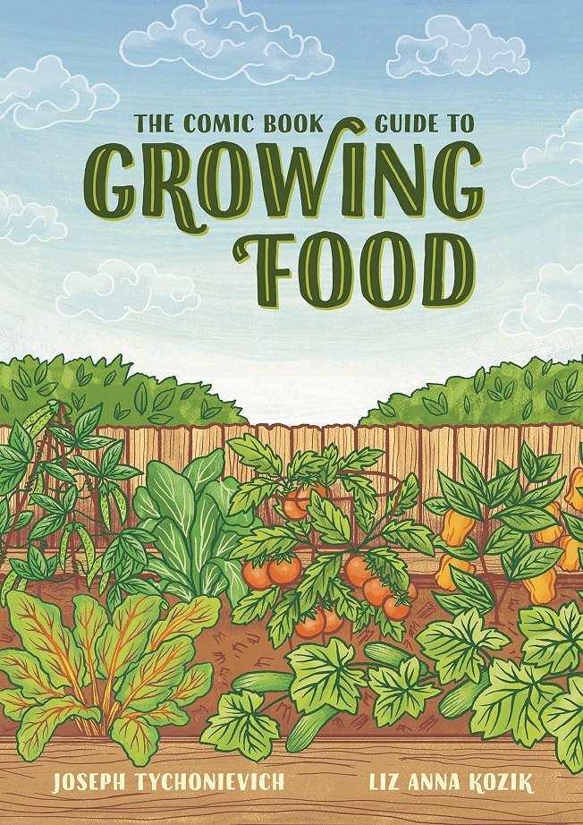 COMIC BOOK GUIDE TO GROWING FOOD